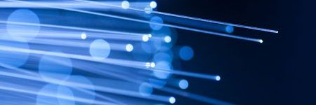 When was fiber optic cable invented